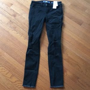 Brand new hollister black jeans